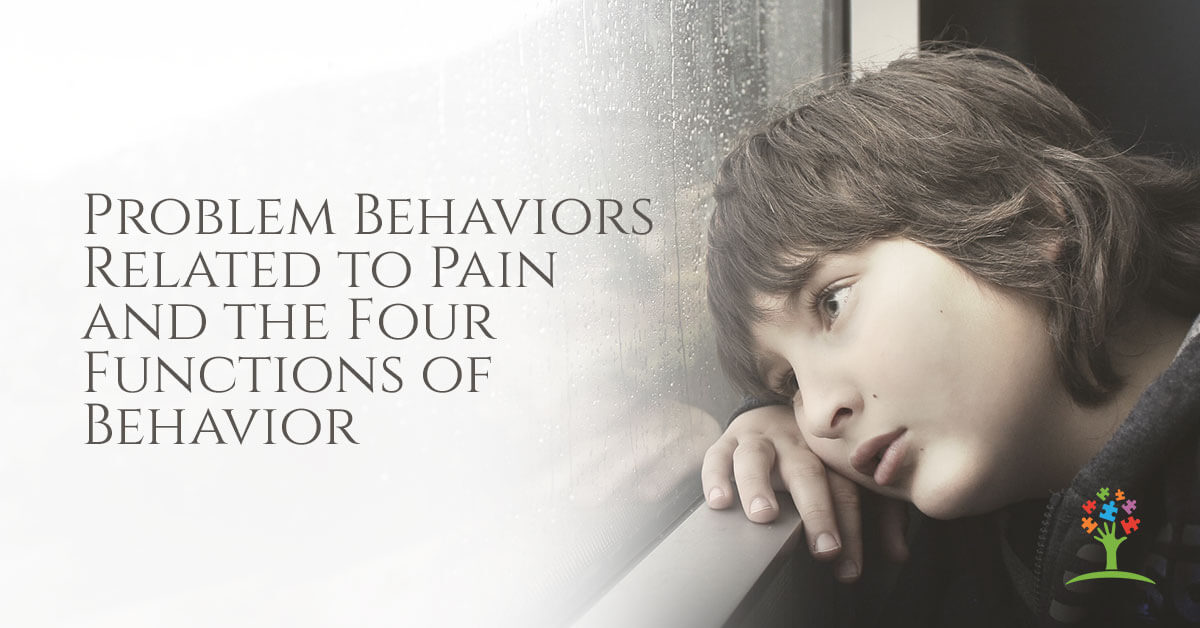 problem behaviors related to pain